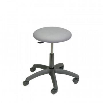 Black base round stool