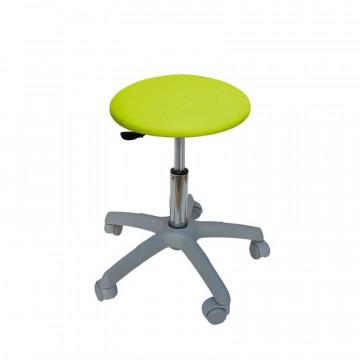 Grey base round stool
